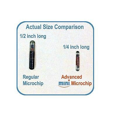 Dog Supplies Pro-ID Microchip Pet Microchip Mini CHIP 134KHZ, ISO
