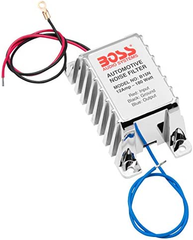 BOSS Audio Systems B65N High Level to RCA Converter Noise Filter for Car Audio Systems