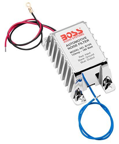 Boss B15N - Filtro antiparásitos para radio de coche (12 V)