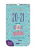 Finocam - Calendario de Pared 16 Meses 2020-2021 210x360 Mes Vista Basic Catalán