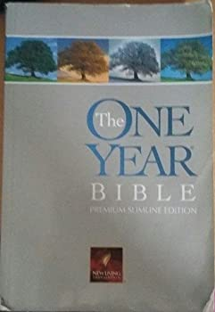 Paperback The One Year Bible Book