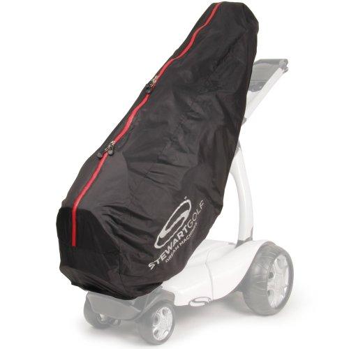 Stewart Golf - Zieh-Golfcarts in schwarz