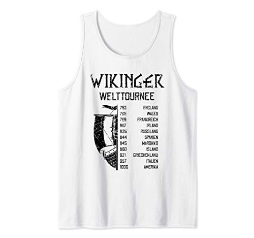 Wikinger Welttournee | Viking World Tour | Mythologie Tank Top