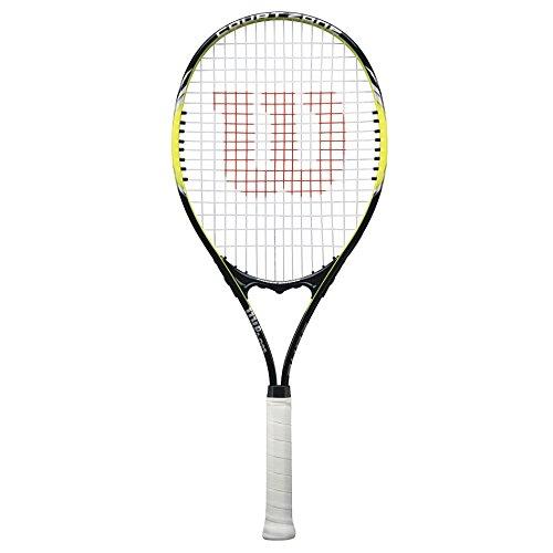 Wilson Raqueta de tenis unisex, Para juego en todas las áreas, Para principiantes y jugadores aficionados, Court Zone Lite, Medida 3, Negro/Amarillo, WRT30250U3