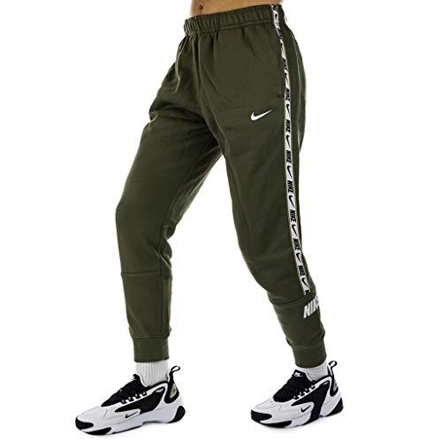 Nike Mens NSW Repeat FLC Pants, Medium Olive, M