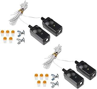 Safety Sensor Eyes for 41A5034 Liftmaster Sears Chamberlain Craftsman Garage Door Opener (2 Kits)