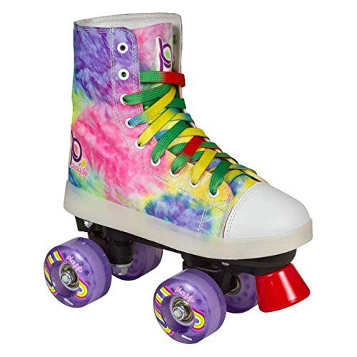 chaya Mädchen Funky LED Rollschuhe, bunt, 38