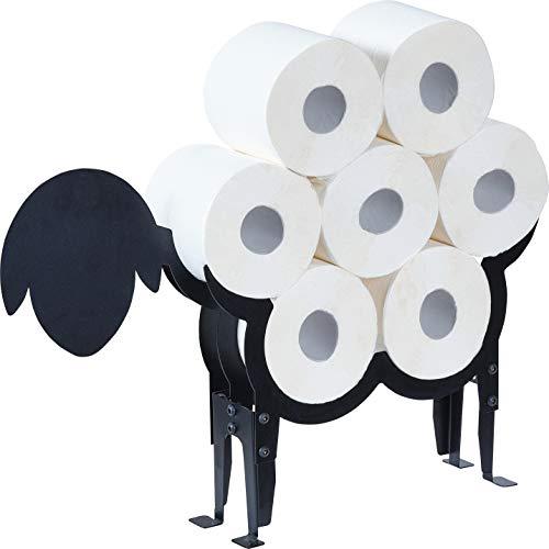 prima terra Estantería para papel higiénico, diseño de oveja