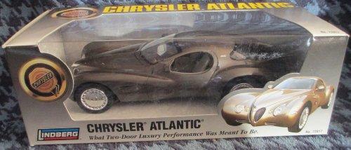 #72817 Lindberg Chrysler Atlantic Concept Vehicle 1/25 Scale Plastic Promo Model,Fully Assembled