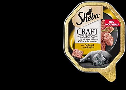 Mars Katze Sheba Schale Craft feine Pastete mit Geflügel 85g (Menge: 22 je Bestelleinheit)