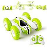 Sinovan Mini RC Cars Stunt Car Toy, 4WD 2.4Ghz Remote Control Car Double Sided Flips 360° Rotating Vehicles, Kids Toy Cars for Boys & Girls Birthday, Sinovanmini , A