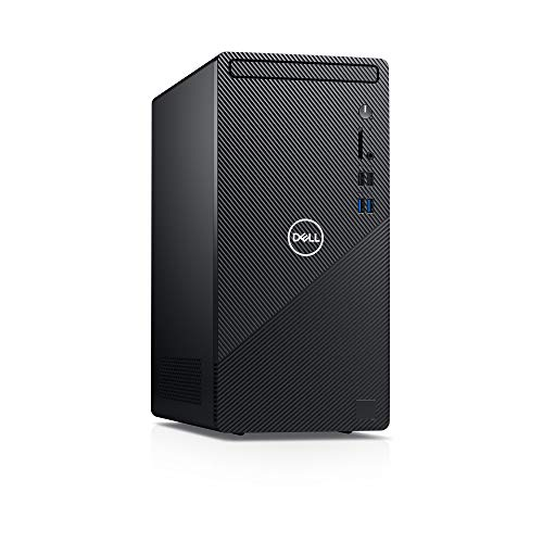 New Dell Inspiron 3880 with Wired Mouse and Keyboard Desktop (Black) Intel Core i5-10400 10th Gen, 12GB DDR4 RAM, 512GB SSD, Windows 10 Pro with 2 Year Onsite Service After Remote Diagnosis