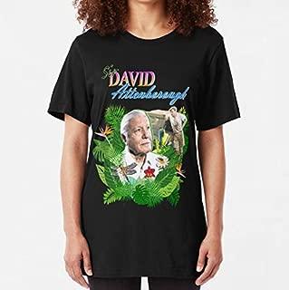 Sir David Attenborough Slim Fit TShirt, Unisex Hoodie, Sweatshirt For Mens Womens Ladies Kids