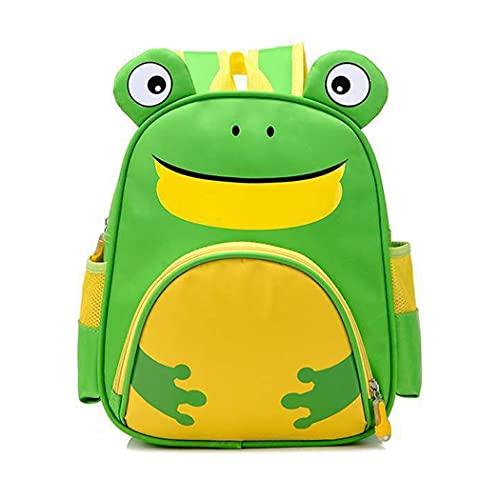 PDVCB Durable Bolso Escolar de los niños Regalos de Kindergarten niños Dibujos Animados Rana Mochila Regalo de niño