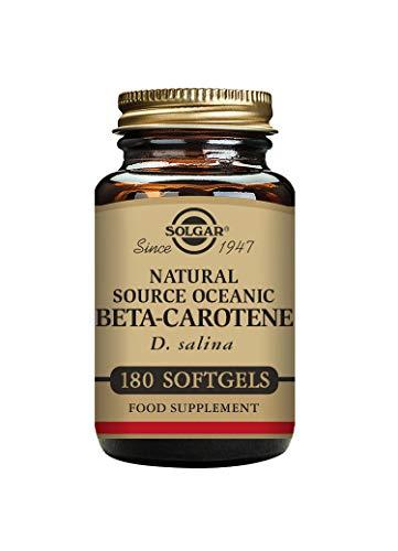 Solgar Beta-Caroteno Cápsulas blandas - Envase de 180