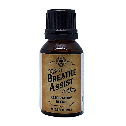 Breathe Assist Pre-Diluted Essential Oil Blend 15ml (0.5 fl...