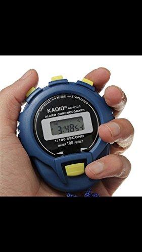HCFKJ Cronografo Digitale Cronometro Contatore Sport Contachilometri Orologio Allarme