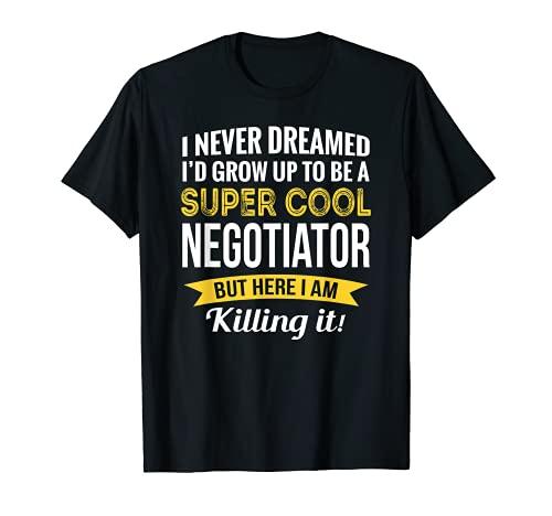 スーパークール ネゴシエーター Tシャツ ギフト 面白い Tシャツ