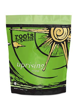 Roots Organics Uprising Grow Fertilizer, 3-Pound