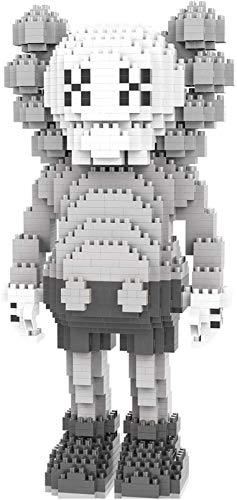 QSSQ Mini Bloques De Construcción 3D Puzzle Toys Figure Figura Coleccionable Modelo De Juguete, Muñeca De Moda Regalos para Niños Adultos,E