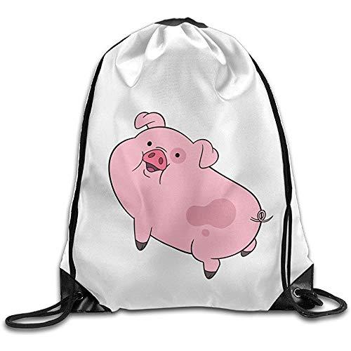 Medsforu Boomy Fashion Fallout Pig Kordelzug Taschen Für Männer Frauen Outdoor Gym Strand Wandern Verwenden