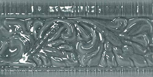 Nais - Baldosas cerámicas para paredes de interior - Colección Evolution - Color Vitex Gris Oscuro (7,5x15 cm) - Caja de 0,77 m2 (68 piezas)