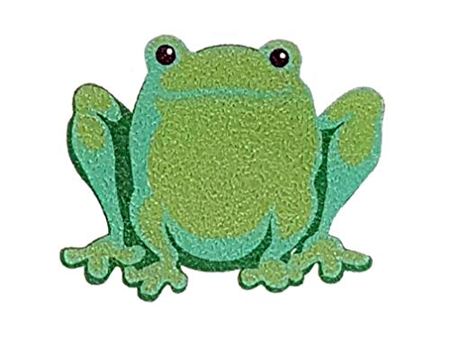 SlipDoctors 5 Piece Non-slip Bath Tub Frog Sticker Pack