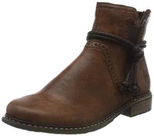 Rieker Damen Z4992 Chelsea Boots, Braun (Brown / 22 22), 37 EU