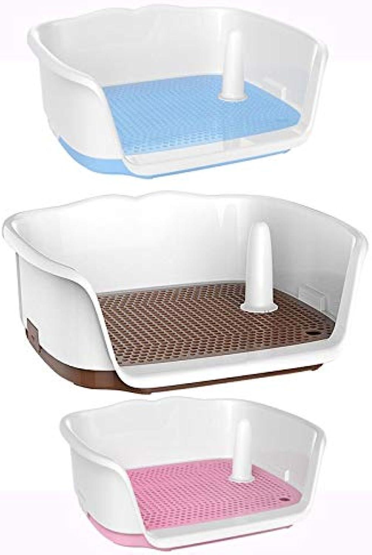 BEITAI Dog Toilet Teddy Labrador Small and Medium Dog Toilet Dog Tablet Toilet Potty Pet Supplies (color   Brown)
