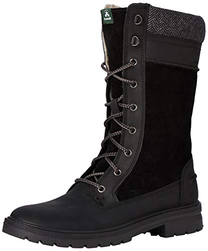 Kamik Women's Rogue 9 Waterproof Winter Boot Black 7 Medium US
