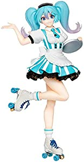"Taito Hatsune Miku Costumes Cafe Maid Version Figure, 7"""