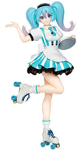 taito Hatsune Miku Costumes cafe maid ver. Figure Figurine 18cm japanese ver.