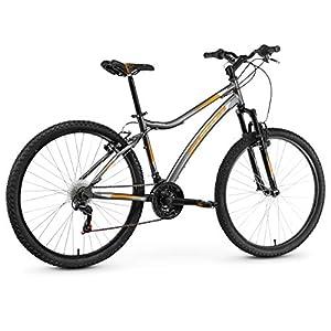 Anakon Premium Bicicleta de montaña, Hombre, Gris, XL
