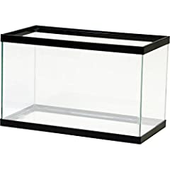 The perfect starter aquarium or terrarium for a wide variety of fish and reptiles