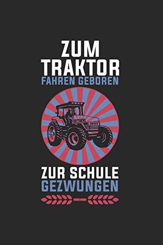 Landwirt Notizbuch: Traktor Zugmaschine Pflügen Schlepper Anhänger als Geschenkidee als Planer Tagebuch Notizheft oder Notizblock 6x9 DIN A5 120 Seiten   Liniert