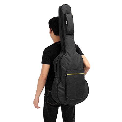 Crewell - Funda de Transporte Acolchada para Guitarra acústica clásica de 106,36 cm