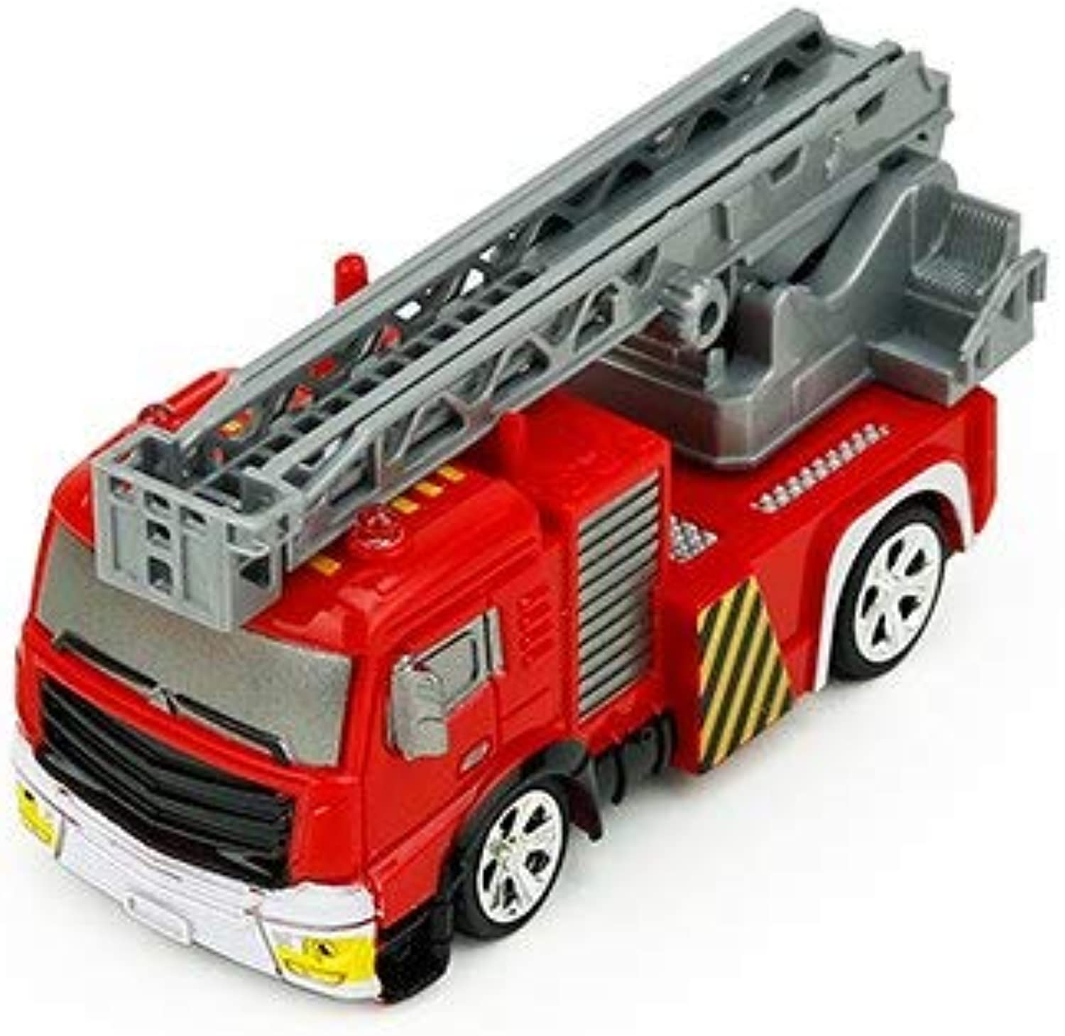 Generic RC Truck 1 58 Fire Truck Engine Remote Control Pumper with LED Lights and Sounds Construction Vehicles for Kids Hobby Toys WaterTank Truck10