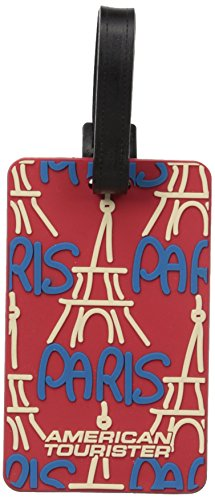 American Tourister City Luggage Tag Travel Accessory, Paris