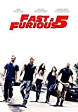 Fast and Furious 5 - VIN Diesel – Film Poster Plakat