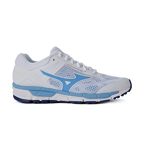 Mizuno Women Synchro MX 2 Neutral Running Shoe Running Shoes White - Turquoise 5
