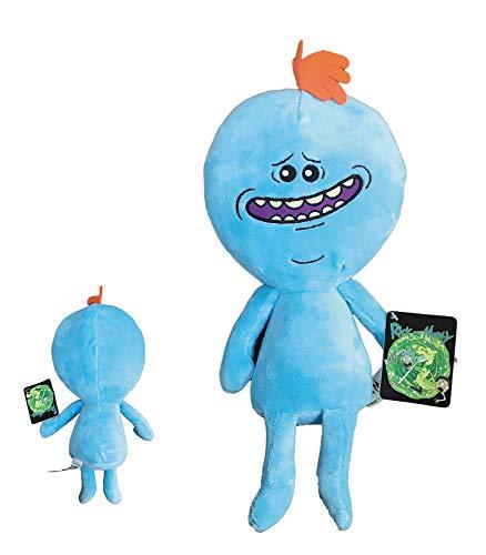 Rick Y Morty - Peluche Sr. Meeseeks 34cm (26cm Sentado) - Calidad Super Soft