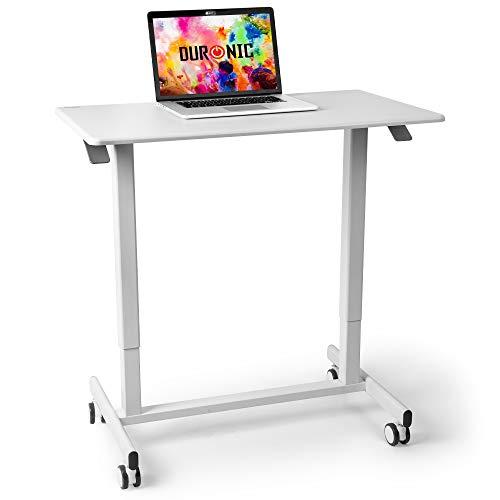 Duronic TM03T Mesa escritorio con altura ajustable 73-107cm para trabajar de pie o sentado –...