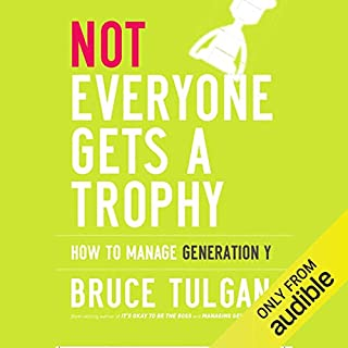 Not Everyone Gets a Trophy audiobook cover art