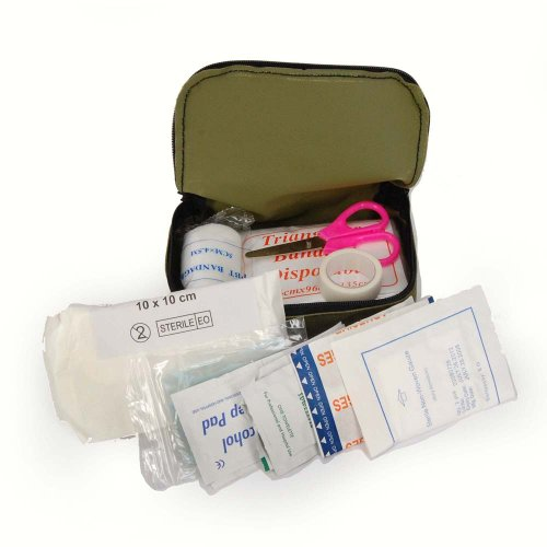 Mil-Tec First AID KIT SM Oliv