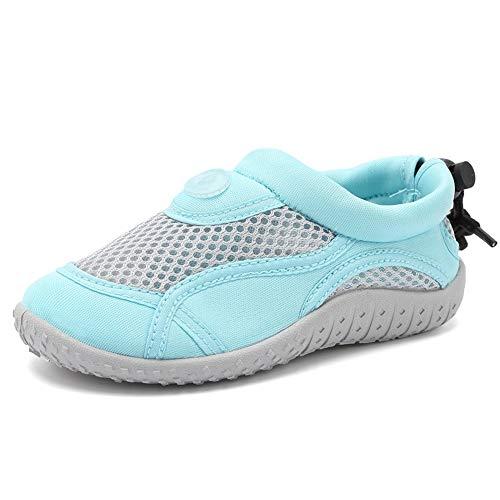 Merence Dziecięce buty do wody dla dzieci, buty do pływania, na plażę, szybkoschnące, buty sportowe dla dziewcząt i chłopców, - Klasyczny niebieski - 22 EU