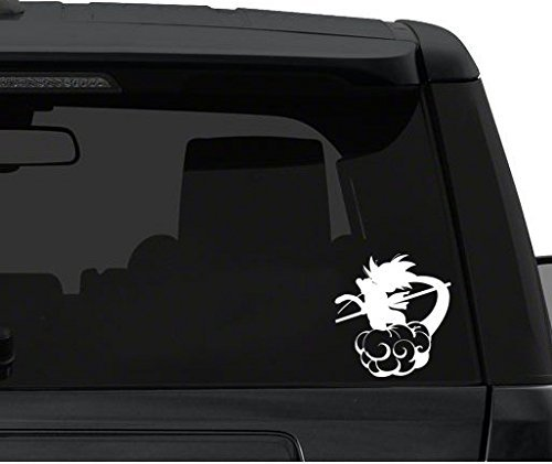 Dragon Ball Goku on Nimbus - Car Window Decal