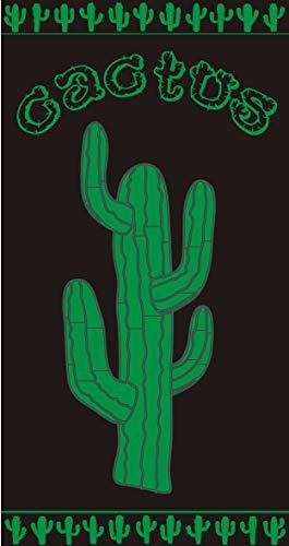 TEXTIL TARRAGO Toalla de Playa 90x170 cm 100% Algodon Egipcio Cactus EGP463