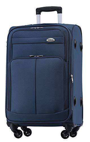 BEIBYE 4 Rollen Reisekoffer 3tlg.Stoffkoffer Handgepäck Kindergepäck Gepäck Koffer Trolley...
