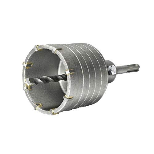 jjw-germany Juego de coronas huecas HM D 68 mm Z=8 con adaptador SDS-PLUS de 110 mm y broca de centrado de 8 x 110 mm, broca de enchufe, broca de lata, broca perforadora para martillo perforador