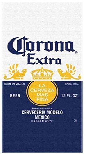Corona Extra Serviette de plage Beer Label